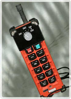 Radio Remote Control  With Selector Switch on Transmitter